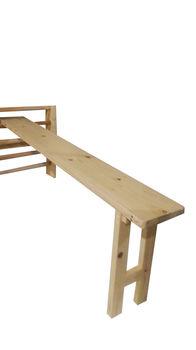 Скамья для шведской стенки 200х25х60 см (3668)