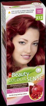 Краска для волос,SOLVEX MM Beauty Sense, 125 мл., S12 - Красный рубин