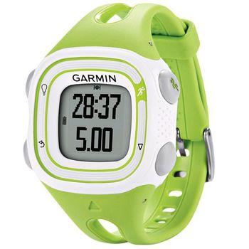 Garmin Forerunner 10 Green and White