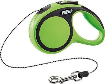 купить Flexi Поводок-рулетка Comfort S Cord 5m Green (12kg) в Кишинёве