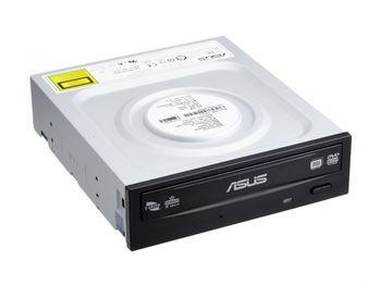 DVDRW Drive ASUS DRW-24D5MT, E-Green, Internal, DVDR+24x/-24x, RW+8x/-6x, DL+12x, RAM12x, SATA, Black, bulk