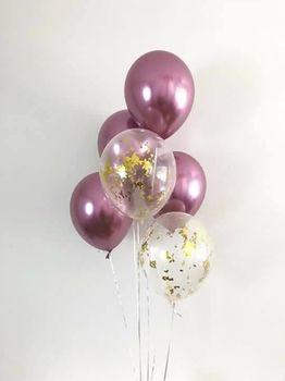 купить Набор шаров «Rose Chrome» в Кишинёве