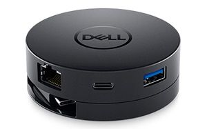 Dell Adapter - USB-C to HDMI/DP/VGA/Ethernet/USB-C/USB-A DA300