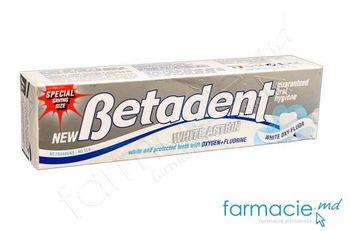 купить Pasta de dinti Betadent White Oxy-Fluor 125 ml в Кишинёве