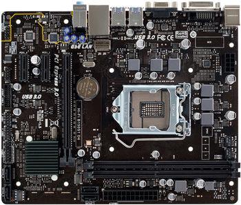 Biostar Hi-Fi B150S1 D4, Socket 1151, Intel® B150, Dual 2xDDR4-2133, CPU Intel graphics, DVI, 1xPCIe X16, 4xSATA3, 2xPCIe X1, ALC887 7.1ch HDA, Gigabit LAN, 6xUSB3.0, BIOSTAR Hi-Fi Tech, mATX