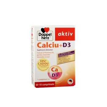 cumpără Doppelherz Aktiv Calciu+D3 comp. N30 în Chișinău