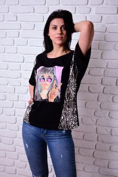 купить Женская футболка Simona ID 4040 в Кишинёве