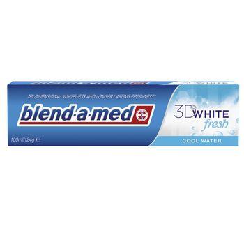 купить Blend-a-med Complete зубная паста 3D White Fresh, 100мл в Кишинёве