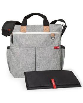 купить Skip Hop сумка для родителей Duo Signature Grey Melange в Кишинёве