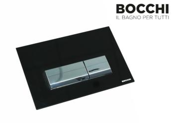 Кнопка для инсталляция подвесного WC Bocchi Vivente Control Panel Black Glass