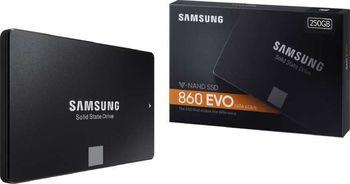 "2.5"" SATA SSD  250GB Samsung 860 EVO ""MZ-76E250BW"""