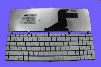 Keyboard Asus N55 N57 N75 ENG/RU Silver