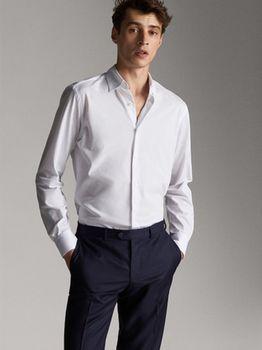Рубашка Massimo Dutti Белый 0165/365/250