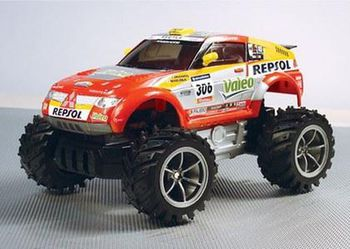 Rastar Радиоуправляемая машина Mitsubishi Pajero Evolution (1-18)