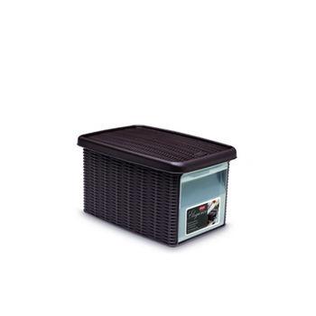 купить Коробка Elegance с боковой дверцей М 290х390х210 мм, коричневый в Кишинёве