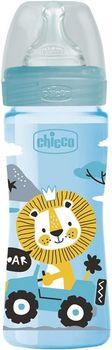 купить Chicco Бутылочка пластиковая с силиконовой соской , 250 мл в Кишинёве