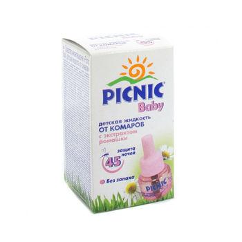 cumpără Picnic Baby Lichid rezerva+musetel 30ml în Chișinău