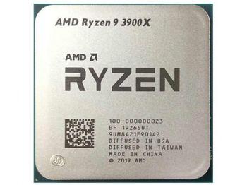Процессор AMD Ryzen 9 3900X (3,8-4,6 ГГц, 12C / 24T, L2 6 МБ, L3 64 МБ, 7-нм, 105 Вт), Socket AM4, лоток