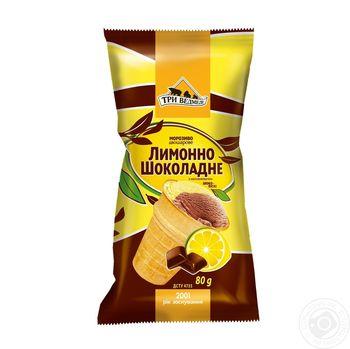 """Мороженое """"Лимонно-шоколадное"""" 80гр"""