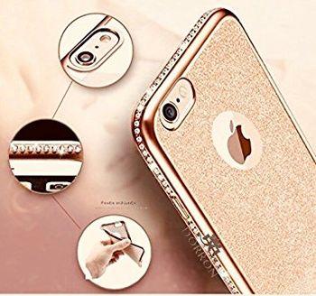 купить Fashion Case Diamond Series Iphone 7, Gold в Кишинёве
