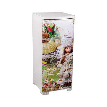 купить Комод плетёный детский  4-х секционный M2450 в Кишинёве
