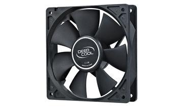 """80mm Case Fan - DEEPCOOL """"XFAN 80"""" Fan, 80x80x25mm, 1800rpm, <20dBa, 21.8CFM, Hydro Bearing, 2Pin Molex, Black"""