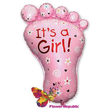 """купить Фольгированная """"Ножка It's a Boy/ It's a girl"""" в Кишинёве"""