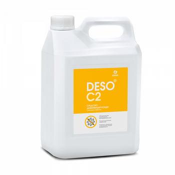 Deso C2 - Дезинфицирующее средство с моющим эффектом на основе ЧАС 5 л