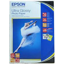 купить A4 EPSON Ultra Glossy Photo Paper A4 (300 g/m2) в Кишинёве