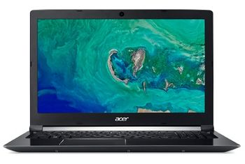 "ACER Aspire A515-51G Obsidian Black (NX.GTCEU.007) 15.6"" IPS FullHD (Intel® Quad Core™ i7-8550U 1.80-4.00GHz (Kaby Lake R), 8Gb DDR4 RAM, 1.0TB HDD, GeForce® MX150 2Gb DDR5, w/o DVD, WiFi-AC/BT, 4cell, 720P HD Webcam, RUS,Backlit, Linux, 2.2kg)"