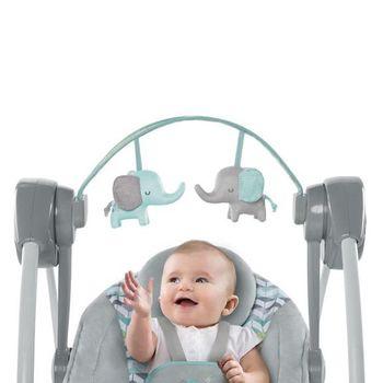 купить Кресло-качалка Bright Starts Comfort 2 Go Jungle Journey в Кишинёве