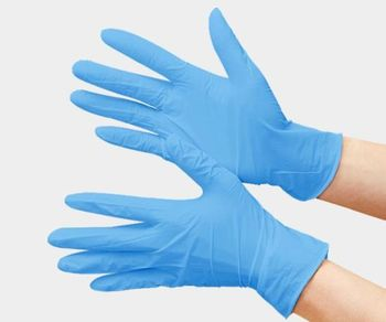 Перчатки нитриловые 200 шт XL