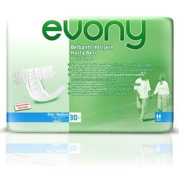 купить Evony подгузники для взрослых Medium, 30шт в Кишинёве
