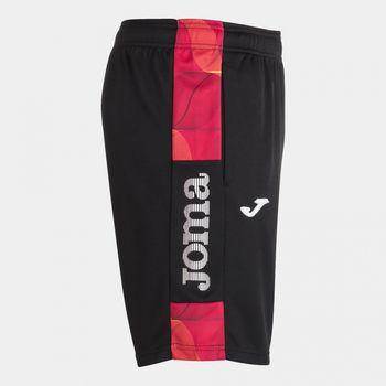 Спортивные шорты JOMA - STREET II NEGRO ROJO