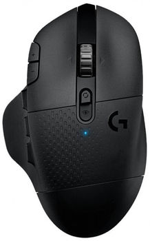 Logitech Gaming Mouse G604 Lightspeed Wireless, Bluetooth, High-speed, Hero 16K Gaming Sensor, 15 Programmable controls, 100-16000 dpi, 1ms report rate