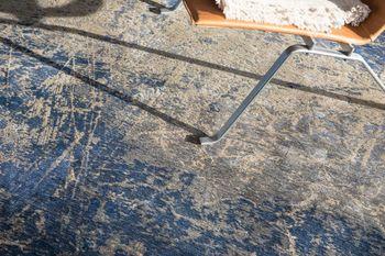 купить Ковёр ручной работы LOUIS DE POORTERE, Mad Man, Abyss Blue 8629 в Кишинёве