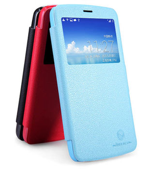 "Чехол для Huawei Honor 3C ""Nillkin Fresh Leather Case"" Черный"