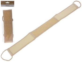 Мочалка длинная полиэстер-джут 74X8cm