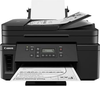MFD Canon Pixma GM4040, A4 Color(optional!) Printer/Duplex/Scanner/Copier/Network/Wi-Fi/Fax, APD 35, Print 600x1200dpi_2pl, Scan 1200x2400dpi, ESAT 13/6.8 ipm, LCD display 6.2cm, Tray 350 sheet, 1 ink tank: GI-40(6000 pg), 3xGI-40cart. CL441 NOT INC!