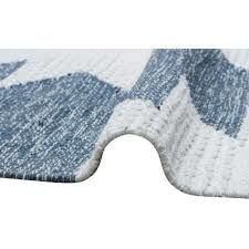 купить Ковёр ручной работы E-H AFRO KILIM, AFR 01 SKY BLUE WHITE 160*230 в Кишинёве