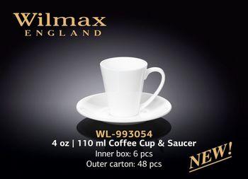 Чашка WILMAX WL-993054 AB (с блюдцем 110 мл)