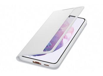 купить Чехол для моб.устройства Samsung Galaxy S21+ ,EF-ZG996 Clear View Cover Light Gray в Кишинёве