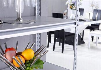Стеллаж металлический Moduline 900x305x1830 мм, 4 полок/0112PE серый