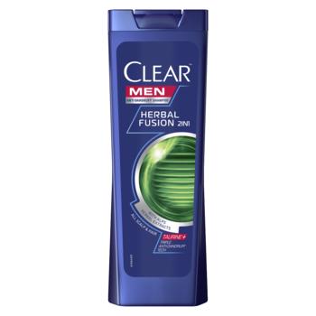 Шампунь против перхоти Clear Herbal Fusion, 400 мл
