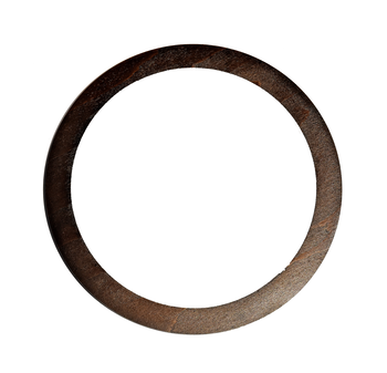 Mâner din lemn, cafeniu închis / 17 cm