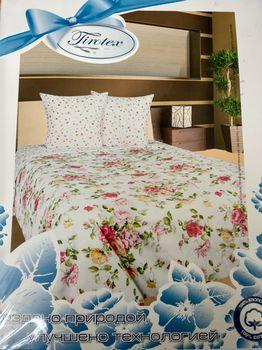купить Сатиновое постельное белье Тиротекс (215*240/215*240/50*70)(модель 102-12024) в Кишинёве