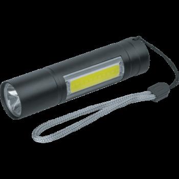 купить Аккумуляторный фонарь-брелок NPT-KC06 (1W) + 1СOB LED (3W) в Кишинёве