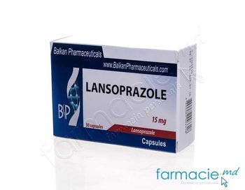 купить Lansoprazol caps. 15 mg N10x3 (Balkan) в Кишинёве