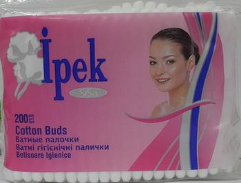 купить Ipek ватные палочки  запаска, 200шт в Кишинёве