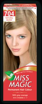 Краска для волос,SOLVEX Miss Magic, 90 мл., 704 - Натуральный блондин